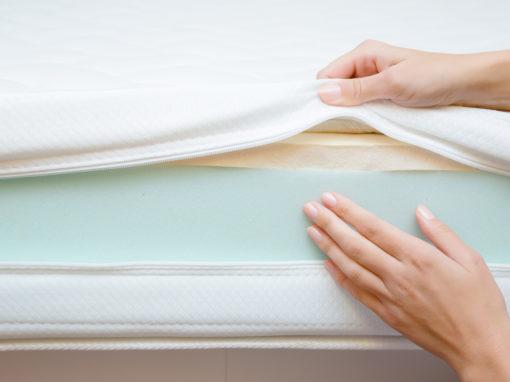 výroba matrací, z jakých materiálů se matrace vyrábí, materiály pro výrobu matrací